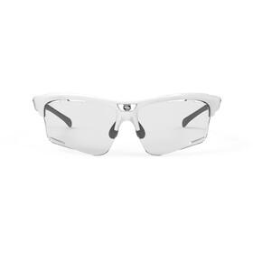 Rudy Project Keyblade Occhiali, white gloss/impactX 2 photochromic laserblack